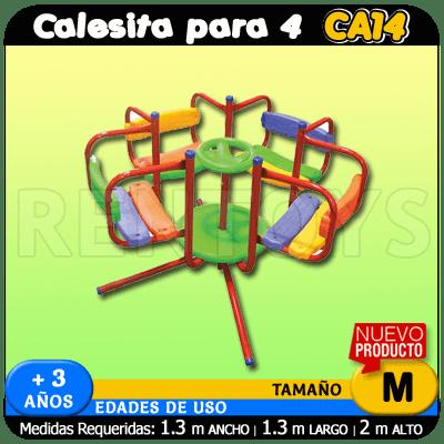 Calesita para 4 CA14