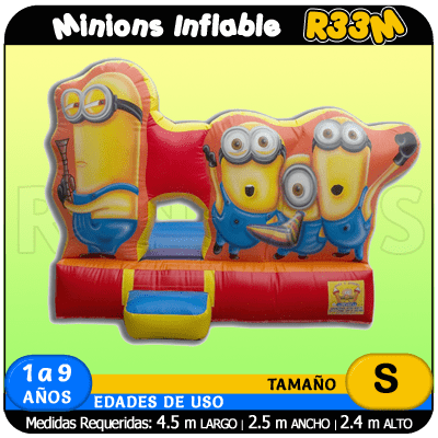Minions inflable R33M