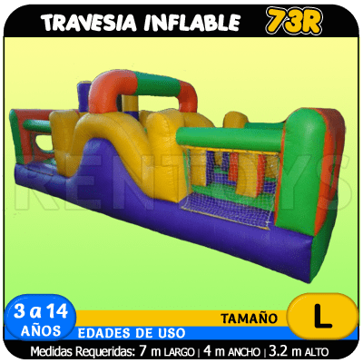 Travesia Inflable 73R
