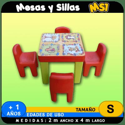 Mesas y Sillas MS1