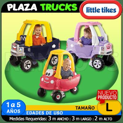 Plaza Trucks Little Tikes